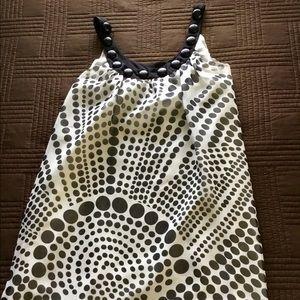 NWT swing dress in a fun fabric.